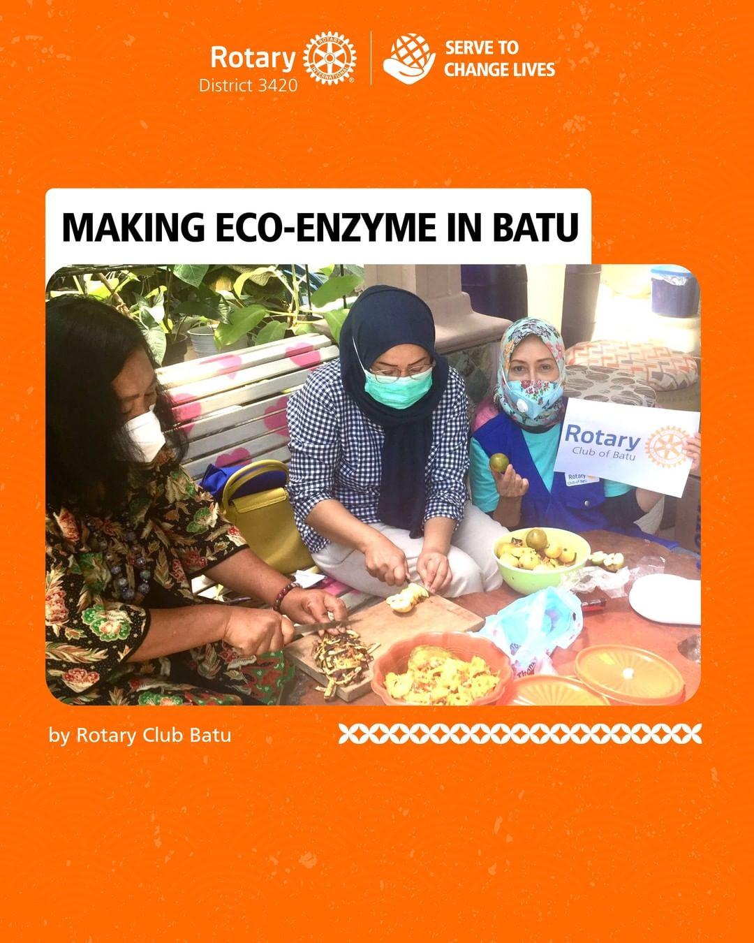 Making Eco-Enzyme in Batu