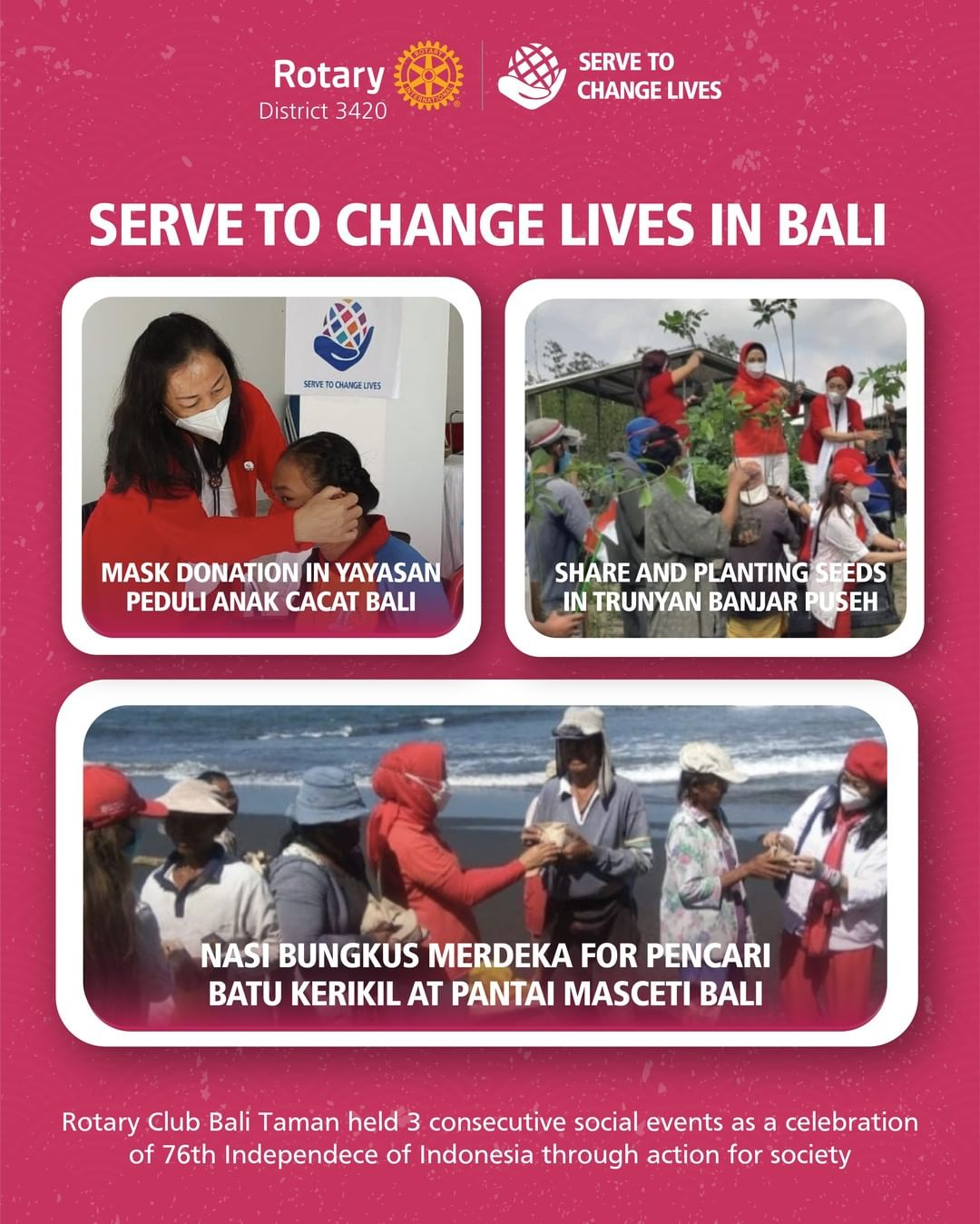 Serve to Change Lives in Bali