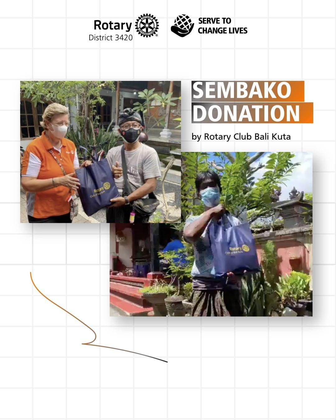 Sembako Donation