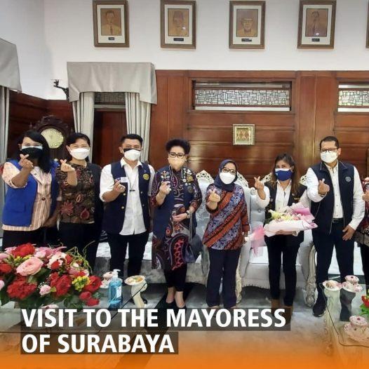 Visit to The Mayoress of Surabaya