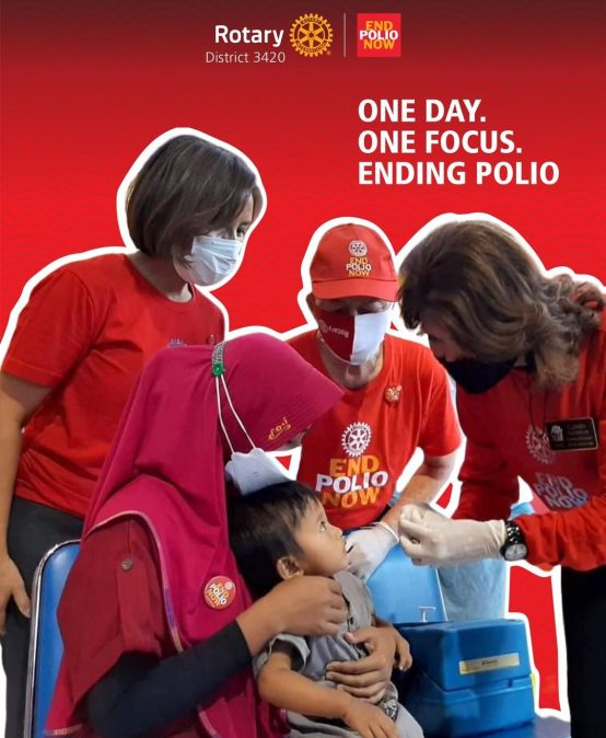 One Day, One Focus, Ending Polio